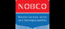 Het logo van Nobco.