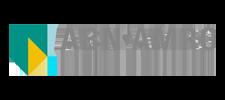 Het logo van ABN Amro, klant voor verschillende coachingstrajecten bij SenSolid