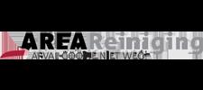 Het logo van AREA, klant voor verschillende coachingstrajecten bij SenSolid