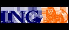 Het logo van ING, klant voor verschillende coachingstrajecten bij SenSolid