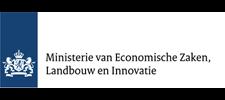 Het logo van het Ministerie van Economische Zaken, Landbouw en Innovatie, klant voor verschillende coachingstrajecten bij SenSolid