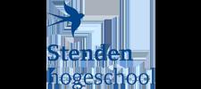 Het logo van Stenden, klant voor verschillende coachingstrajecten bij SenSolid