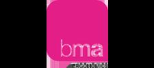 Het logo van BMA, klant voor verschillende coachingstrajecten bij SenSolid