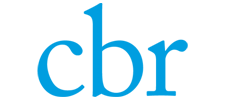 Het logo van de CBR, klant voor verschillende coachingstrajecten bij SenSolid