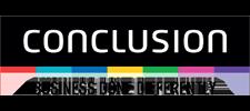 Het logo van Conclusion, klant voor verschillende coachingstrajecten bij SenSolid.