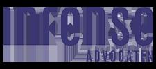 Het logo van de Infense Advocaten, klant voor verschillende coachingstrajecten bij SenSolid