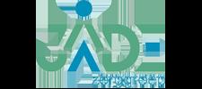 Het logo van Jade Zorggroep, klant voor verschillende coachingstrajecten bij SenSolid
