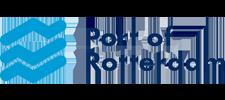 Het logo van Port of Rotterdam, klant voor verschillende coachingstrajecten bij SenSolid