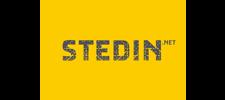 Het logo van Stedin, klant voor verschillende coachingstrajecten bij SenSolid