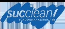 Het logo van Succlean, klant voor verschillende coachingstrajecten bij SenSolid