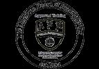 Het logo van de American Board of Hypnotherapy (ABH).